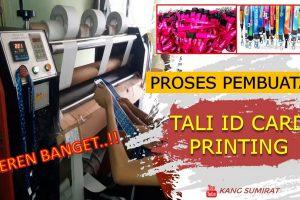 Pembuatan Tali ID Card Printing Murah Di Jakarta