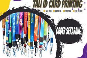 Pusat Tali ID Card Printing Jakarta
